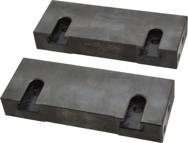 Jaw Plates F// Vises,4in Step Jaw