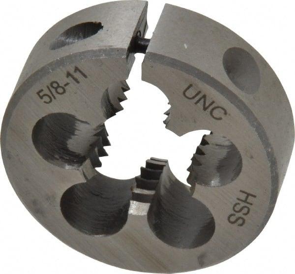 High Speed Steel 5//16-32 X 1 O.D. Special Thread Round Die