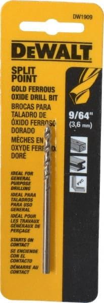 Drillco Drill Bit Black /& Gold 3 Pack High Speed Steel 39//64 1//2 Shank S/&D Drills 135/° Point