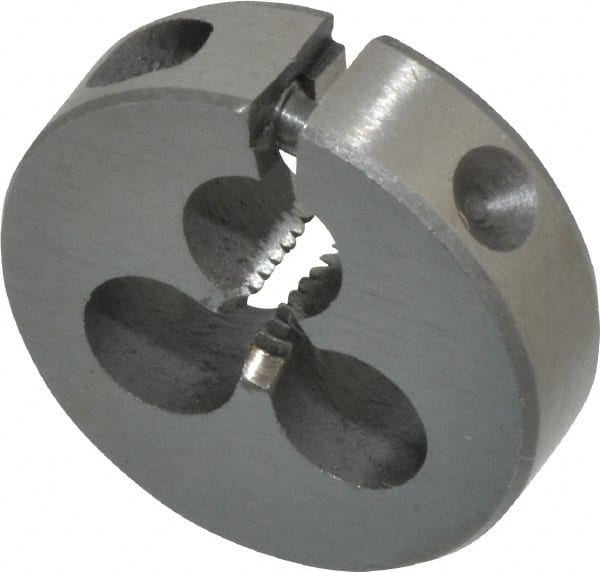 "10-36 X 1/"" HIGH SPEED STEEL ROUND ADJUSTABLE DIE"