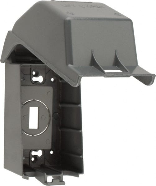 Aluminum Electrical Box Receptacle Cover