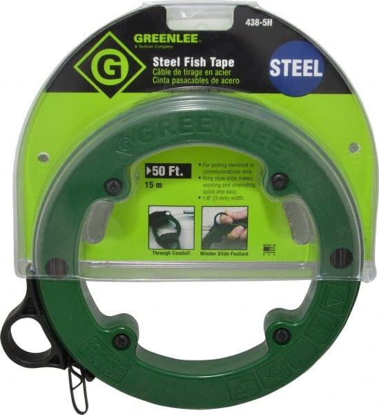 50ft STEEL FISH TAPE-1//8INCH