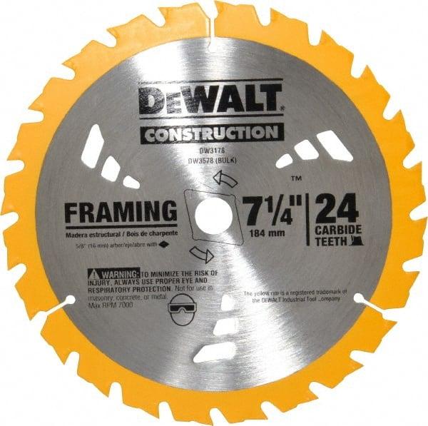 Dewalt circular saw blade mscdirect dewalt circular saw blade dewalt 7 14 keyboard keysfo Images
