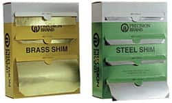 "PRECISION BRAND 17875 Shim Stock,Sheet,Brass,0.0120 In,6/"",PK10"