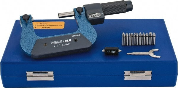"SPECIAL PRICE BRAND NEW 1-2/"" SCREW THREAD MICROMETER"
