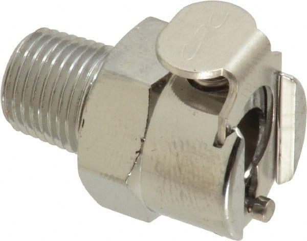 Colder MCD2006 Chrome Plated Brass Tube Fitting Ferruleless In-Line 1//8 Insert x 3//8 Tube OD Shutoff PTF Insert