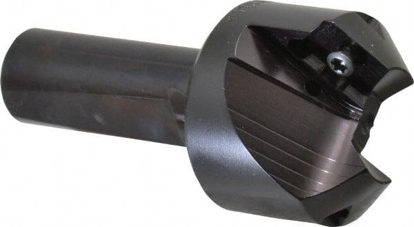 KYOCERA 813-0689L1241 High Performance Extra Length Drill 16xD 31.50 mm Cutting Length 1.75 mm Cutting Diameter 140 Degree Cutting Angle Carbide 77 mm Length 3 mm Shank Diameter AlTiN