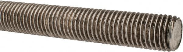1-1//8-12 x 3 Plain Low Carbon Steel Threaded Rod