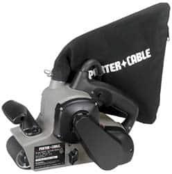 4x24 belt sander. porter-cable 3x21inches w/dust bag v/s belt sander 352vs 4x24