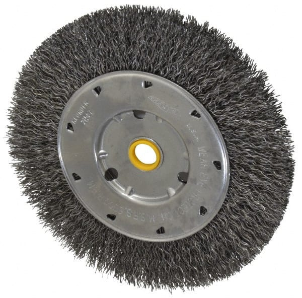 Osborn 26216SP Knotted Wire Wheel Brush 0.014 Wire Diameter String Stainless Steel