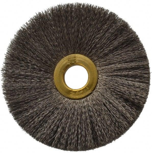 Osborn 00036748SP Crimped Wire Internal Brush 0.005 Wire Diameter String Carbon Steel