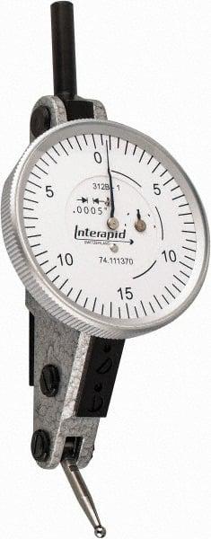 "Brown /& Sharpe Interapid Dial Indicator .060/"" Range .001 Graduation 74-111374"