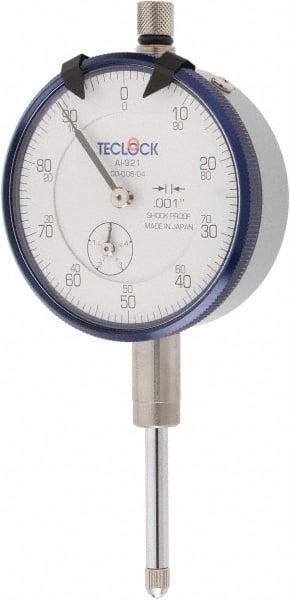 "0-1/"" Range High Precision 0-100 Dial Test Indicator 0.001/"" Graduation Lug Back"