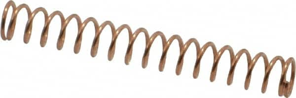 Made In Usa 3 16 Od Compression Spring 06981203 Msc Industrial Supply