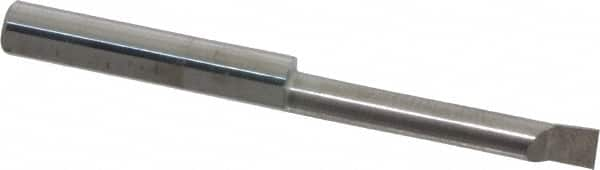 Micro 100 2.000 AlTiN Coated Right Hand Quick Change Boring Bar.320 Bore Dia.500 Bore Depth.080 Ang QBB-320500X