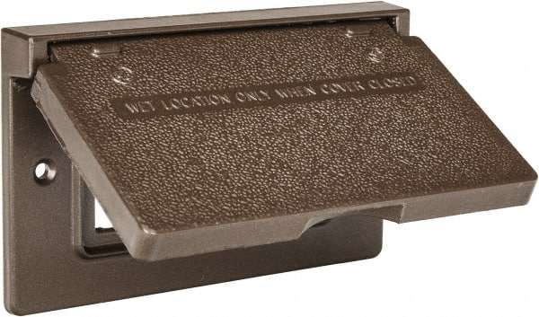 Weatherproof Outlet Box Cover | MSCDirect.com