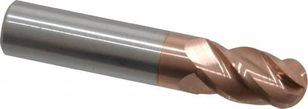 """3//32/"""" 2 Flute Carbide End Mill 5//8/"""" LOC, 2/"""" O//L USA"""