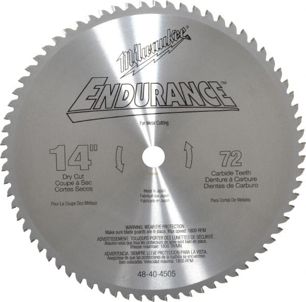 Carbide tipped circular saw blade mscdirect milwaukee 14 greentooth Image collections