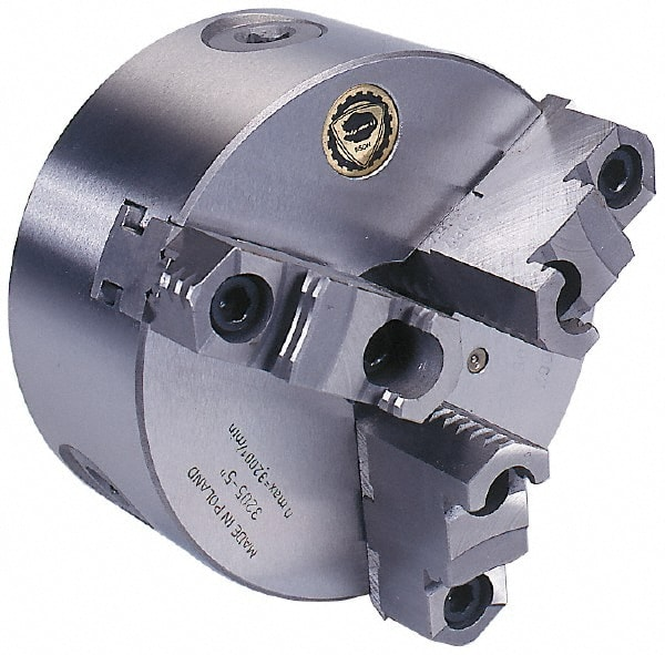 Bison 3 Jaw Adjustable Lathe Chucks   MSCDirect.com