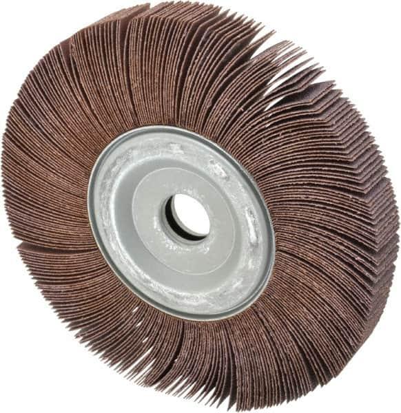 "8-in Abrasive Flap Wheel 8/""x1/""x1/"" Aluminium Oxide 80 grit Unmounted Sanding disc"