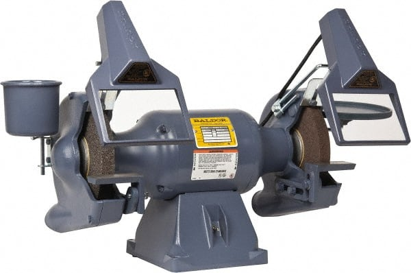 bench grinder amp inch work variable speed with store light wen