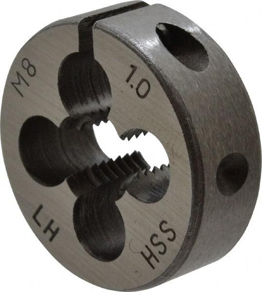 Left Hand Thread Round Die High Speed Steel 5//16-24 X 1 O.D.