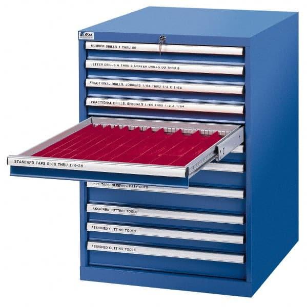 Lista Fasteners Modular Crib Cabinet By Lista TCC-8-FTB-CB - Modular Drawers Storage Cabinets MSCDirect.com