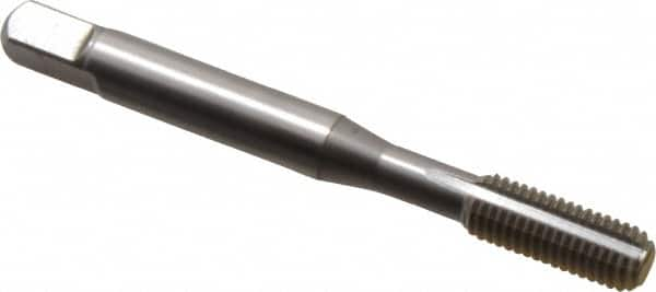 Plug Chamfer Uncoated Bright Finish North American Tool 19078 HSS Thread Forming Tap 1//4-28 NF Thread Type 2.5 Length