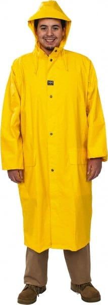 MCR SAFETY 200CX2 Raincoat Detachable Hood,Yellow,2XL