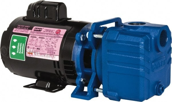 American Machine Tool 1 2 Hp 1 00 Inlet 38 Gpm Aluminum Utility Pump 09277401 Msc Industrial Supply