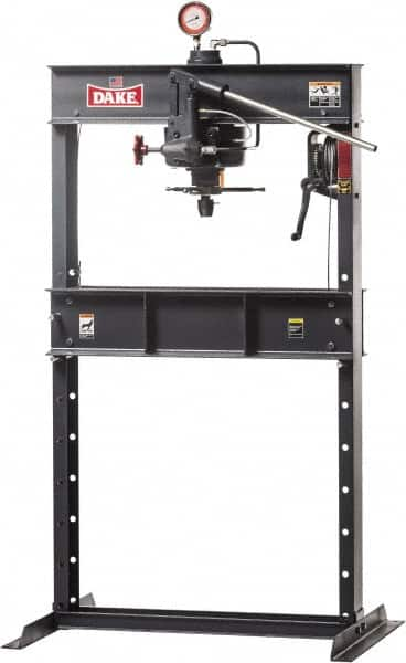 Dake - 25 Ton Manual Shop Press - 09510405 - MSC Industrial Supply