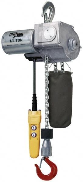 115 Volt Electric Hoist | MSCDirect com
