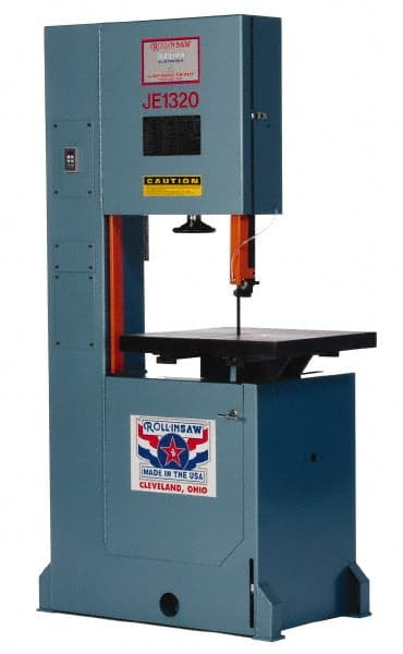 Roll-In Saw - 20 Inch Throat Capacity, Vertical Bandsaw