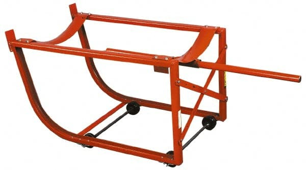 600 Lb Load Capacity, Tilting Drum Cradle 09782707 - MSC