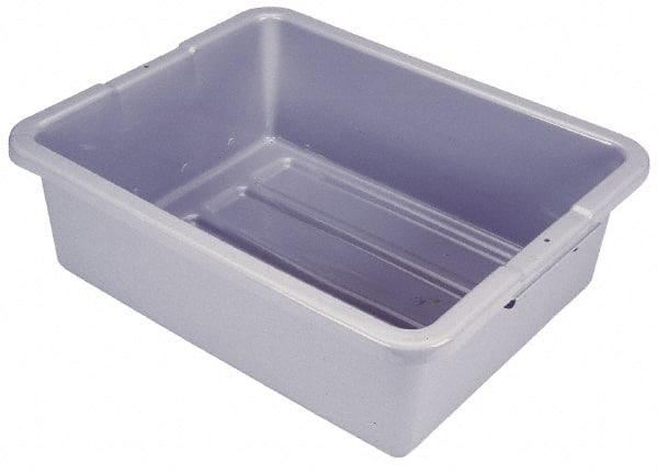 Rubbermaid 7 1 Gal Gray Polyethylene Tote Container
