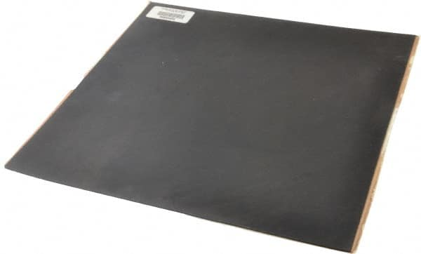 1//8 Thick x 12 Wide x 24 Long USA Sealing Fire Retardant Silicone Foam Sheet with High Temp Adhesive on Both Sides