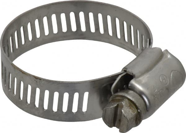 """1-1//4/"""" to 2-1//4/"""" d. 62M2851#28 SS Clamp with 300 SS Screw 5//16/"""" W-10EA"""