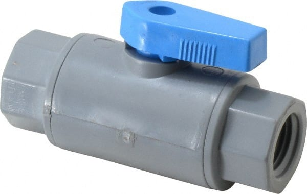 Specialty Mfr 1 4 Pipe Pvc Standard Ball Valve 09881251 Msc Industrial Supply