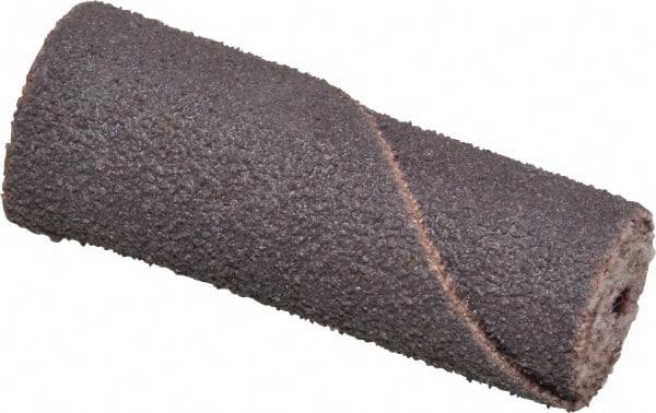 Roll 1//2 Diameter x 2 Length Merit Abrasive Cartridge Roll Grit 80 1//8 Arbor Aluminum Oxide Pack of 100