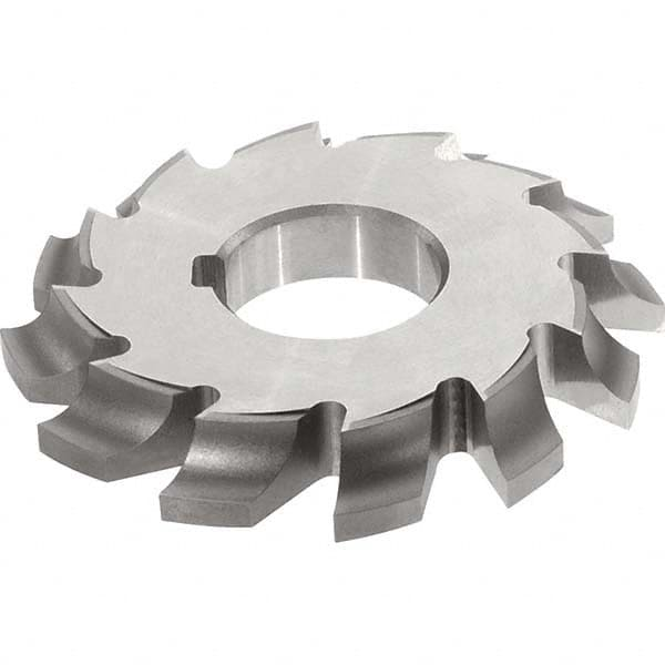 9//16 Concave Radius 1-1//4 Arbor Hole KEO Milling 14011 Concave Milling Cutter,CC Style 4-1//4 Cutting Diameter 1-11//16 Width 1-1//8 Circle Diameter HSS TiN Coating 10 Teeth