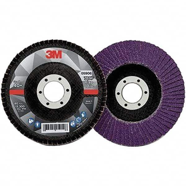 """Type 29 Osborn Flap Disc 4-1//2/"""" x 7//8/"""" EXT 80 Grit"""
