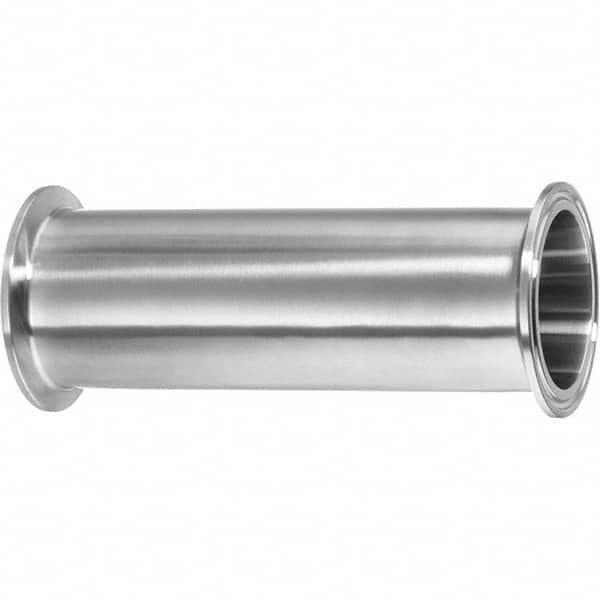 2 Tube OD Medium Ferrule 316 Stainless Steel USA Sealing Sanitary Fitting 1-1//8 Long