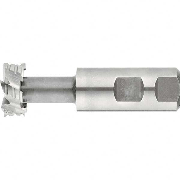 T-Slot Shank TiCN Coating 3-1//4 Length KEO Milling 19334 Model TS109 Shank-Type Cutter 21//64 Width 3//4 Shank Diameter HSS 25//32 Cutting Diameter 8-Flute