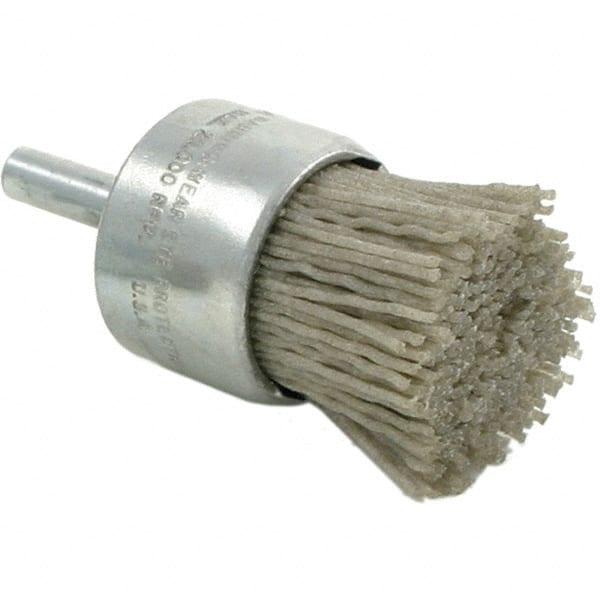 Silicon Carbide Abrasive 2-1//2 Brush Length 5-1//2 OAL Weiler 320 Grit Single Spiral Tube Brush 9 Pack 1 Brush Diam