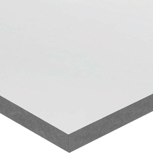 "PVC Sheet Gray Type I PVC Grade Made in USA 1/"" Thick x 12/"" Wide x 1/' Long"