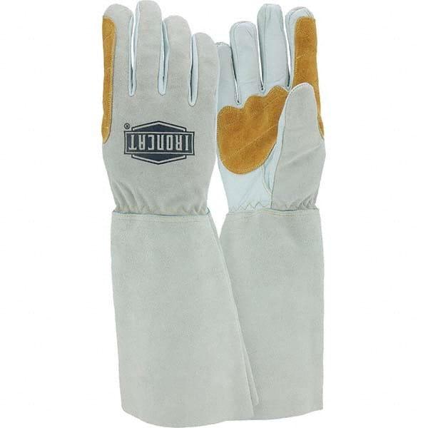 Elkskin Palm Stick,Welding Gloves,XL,PR STEINER 8502-X