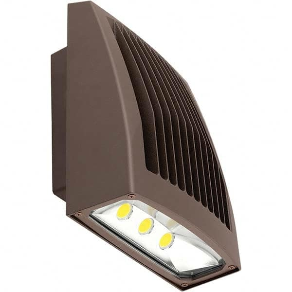 hubbell lighting wall pack light fixtures lamp type led wattage 80 16971434 msc industrial supply
