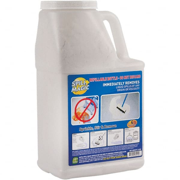 Spill Magic 3 Lb Bottle Perlite Granular Absorbent 31448004