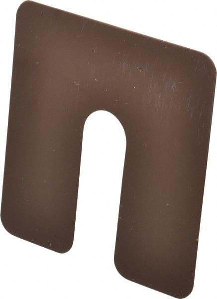 Slotted Plastic Shims | MSCDirect com