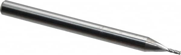 Uncoated 4-Flute 9//32 L.O.C. SGS Series 1 PART NO SGS30111 3//32 Square-End Regular Length Carbide End Mill